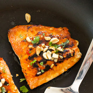 Easy Thai Salmon.