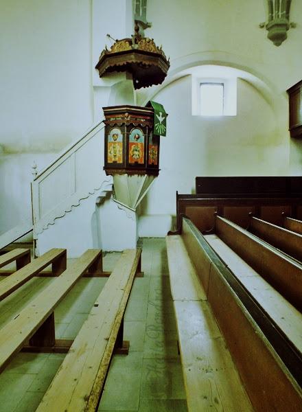 amvon biserica evanghelica saschiz