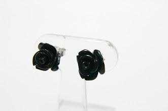 Photo: 商品番号:133850 合成黒バラPE