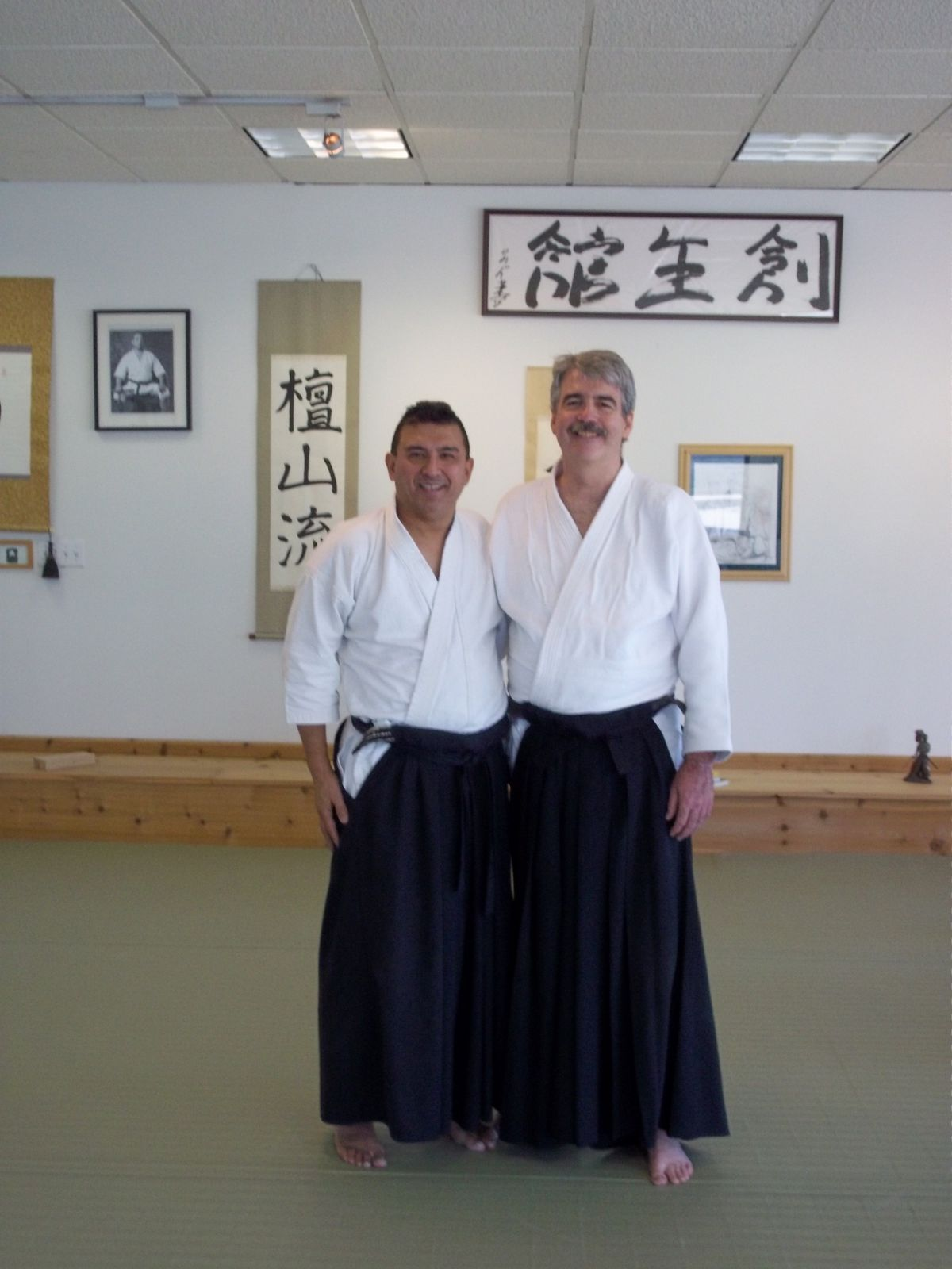 A Blast from the past - Sensei Dr. Dean Funk visits A Center for the Martial Arts - Soseikan Dojo Nov. 27th 2010