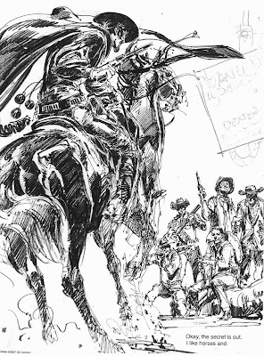 Diablo sketch by Neal Adams