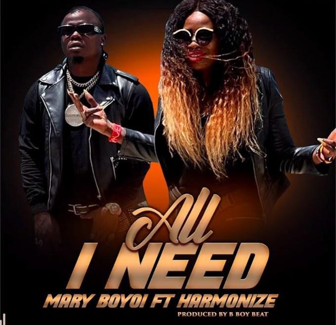 AUDIO: Mary Boyoi ft Harmonize – All I Need | Download Mp3