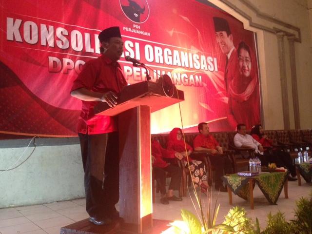Pilwali Mojokerto 2018, Santoso Optimis Kantongi Rekom PDI Perjuangan
