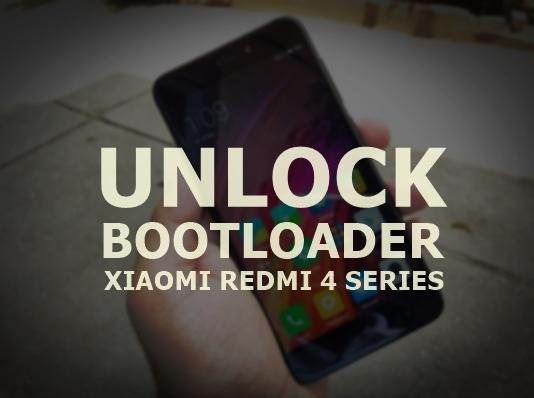 Cara Unlock Bootloader Redmi 4 , 4A ,4X, 4 Prime