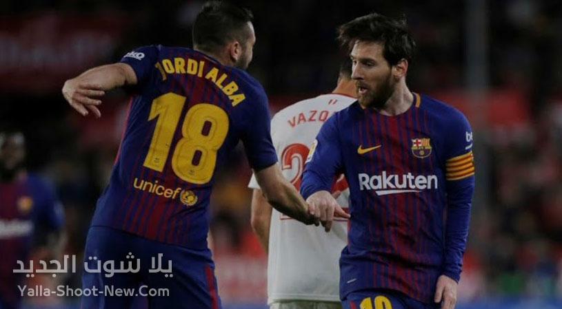 موعد مباراة برشلونة واشبيلية