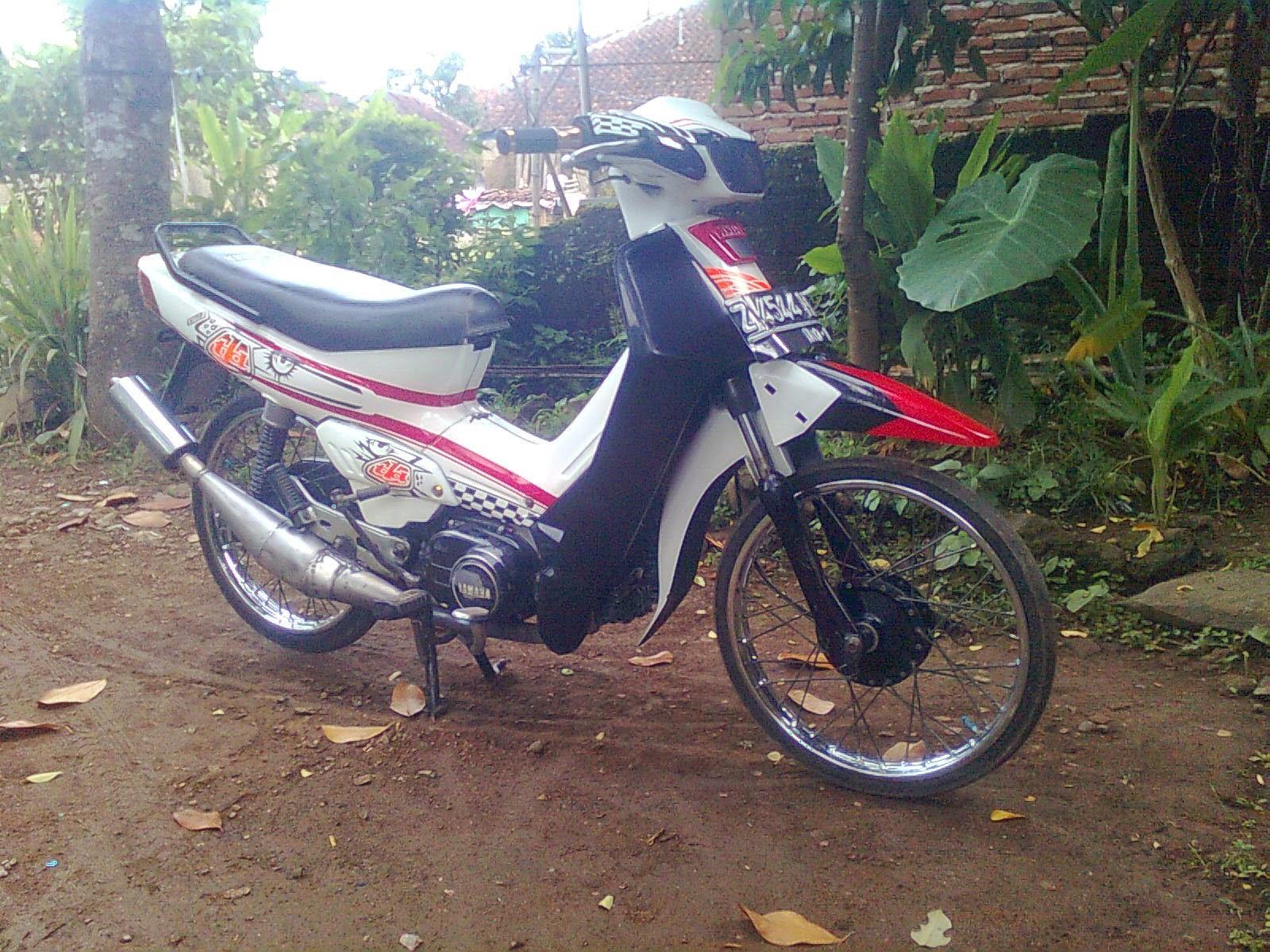 Modifikasi Motor Yamaha Force One