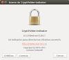 CryptFolder Indicator o cifrado seguro de tus archivos en Ubuntu