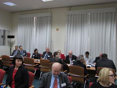Na ministerialną konferencję 'Paliw Metanowych' przybyło liczne grono przedstawicieli administracji rządowej