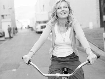 las bicis vintage están de moda entre las celebrities