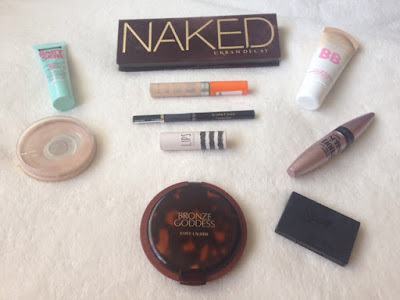 Summer makeup tutorial products