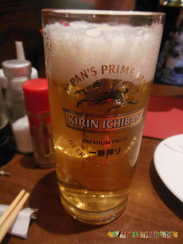 Izakaya Bruxelles Kirin Japanese Bier