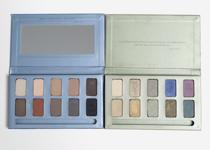 side by side stila palette comparison