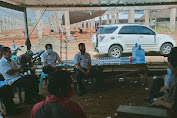 Pejabat Pemkab Rame - Rame Monev Progres Kontruksi Pasar Cilamaya