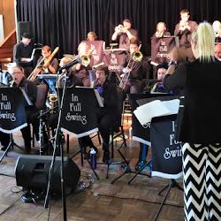 IN FULL SWING big band at Harmonie German Club on 5 Nov 2017