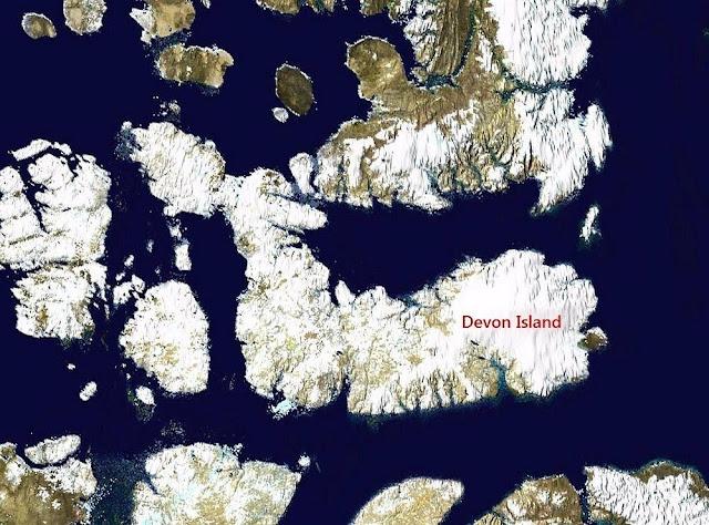 Ilha de Devon, onde a Terra se parece com Marte