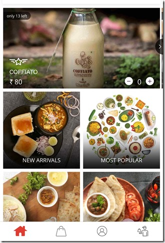 Faasos food ordering experience and review