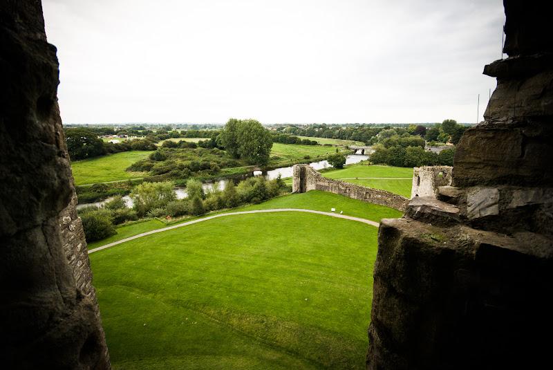 Irlandia -- Trim Castle, miasteczko i okolice..