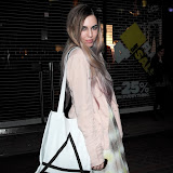 WWW.ENTSIMAGES.COM -  Amber Le Bon   at      Eleven Paris - store launch party Boy George, DJs as cult French fashion label hosts party to celebrate the opening of its debut London store, in the year of its 10th anniversary at Eleven Paris, 46 Carnaby Street, London, April 25th 2013                                                    Photo Mobis Photos/OIC 0203 174 1069