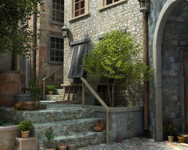 Old House, Magical Landscapes 1