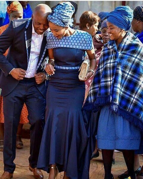 Seshoeshoe Traditional Wedding Dresses