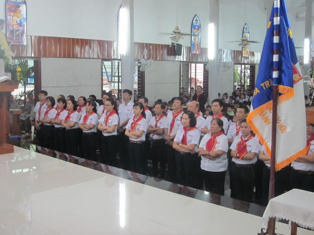 Thánh lễ thành lập và ra mắt xứ đoàn Thiếu Nhi Thánh Thể Đức Bà Phù Hộ các tín hữu giáo xứ Bắc Thành
