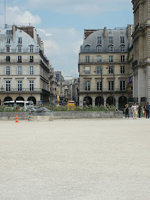 The Louvre, between the Tuileries and the Museum