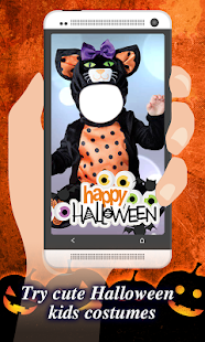 Baby Halloween Costume Photo Montage - náhled