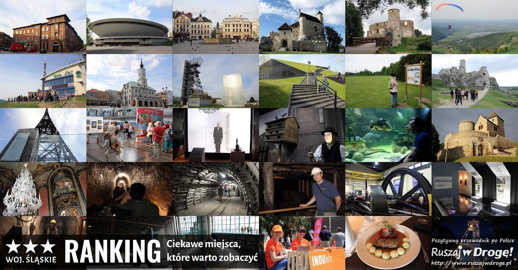 Ranking Ruszaj w Drogę - co warto zobaczyć w woj. śląskim