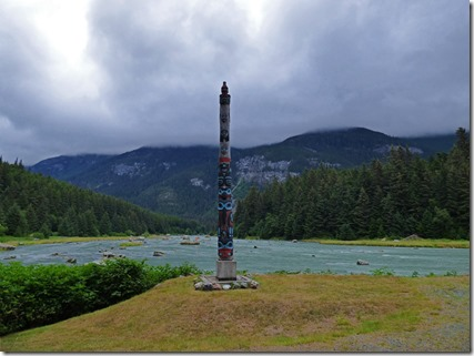 Chilkoot River Totem Pole