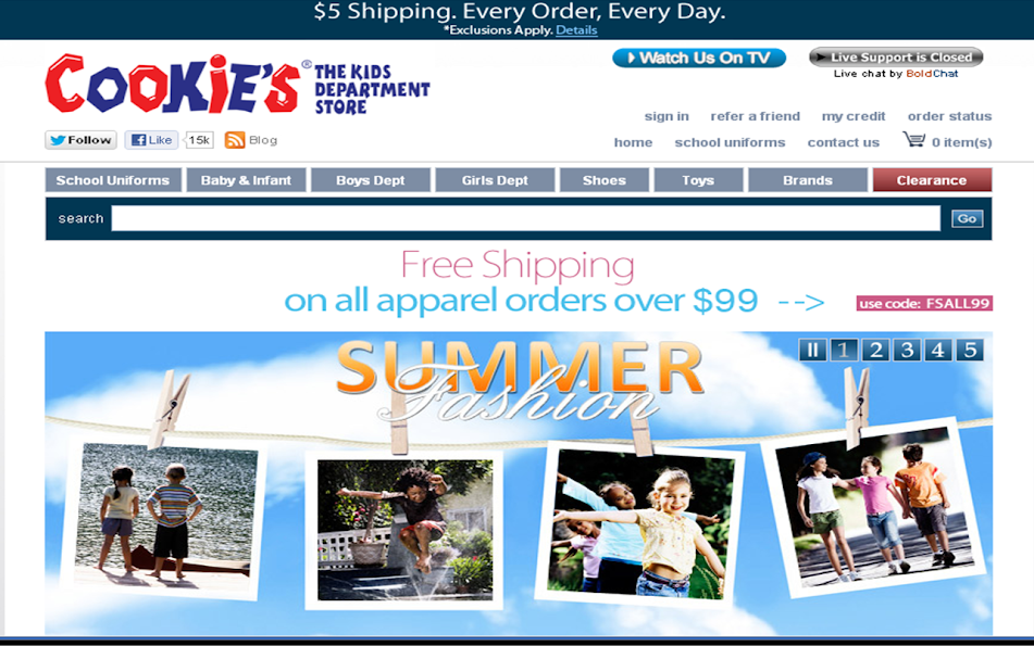 #CookiesKids summer clothes for kids