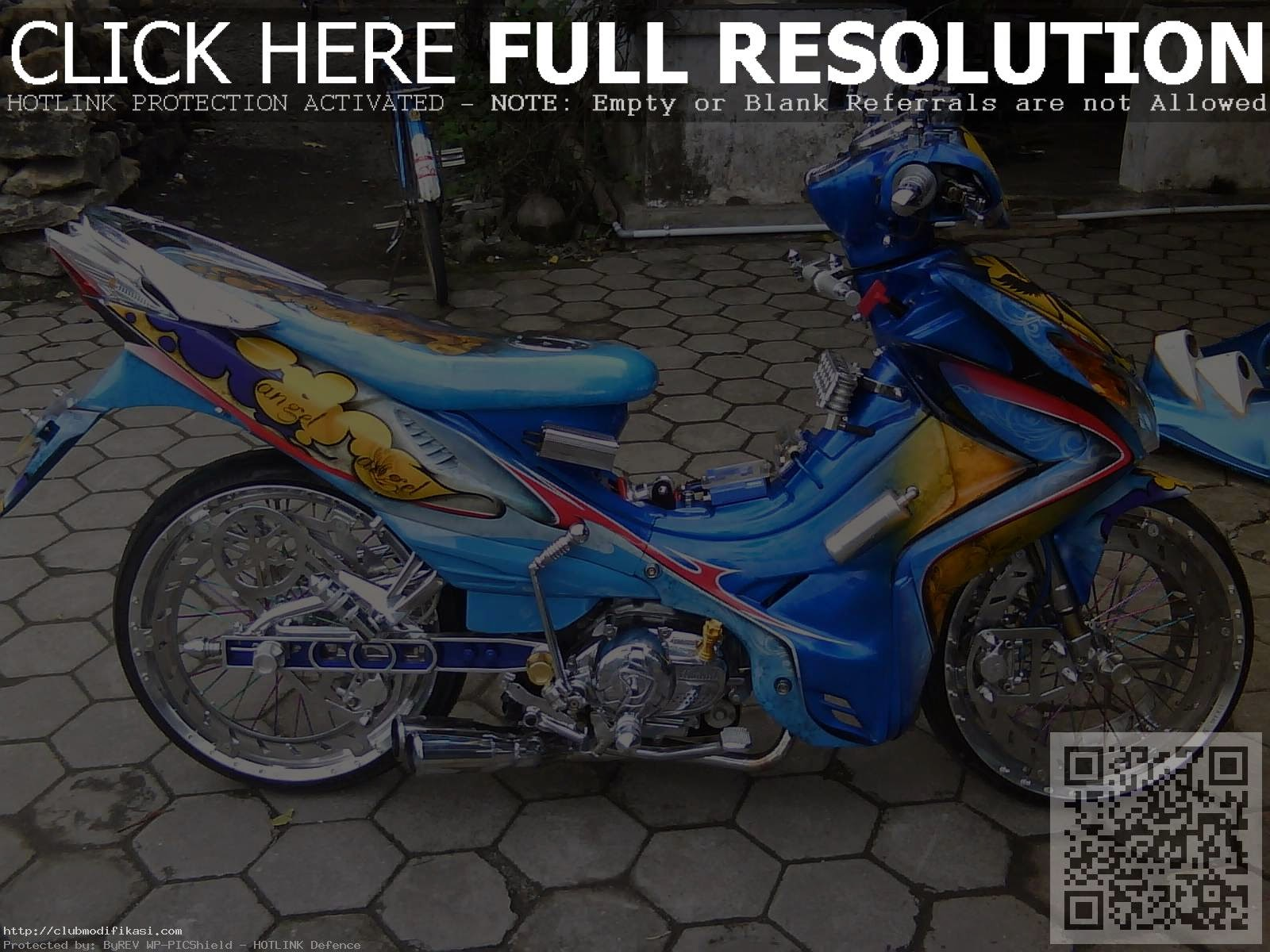 Astrea Grand Modifikasi Minimalis