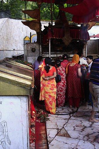 dakshinkali temple nepal, durga puja nepal, durga puja festival nepal