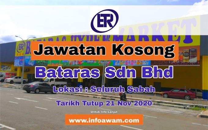 Jawatan Kosong Terkini Di Bataras Sdn Bhd