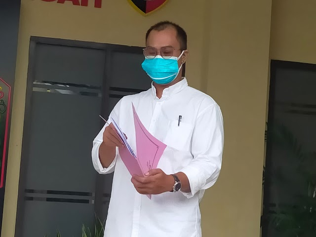 Diduga Menghasut, AEE Dilaporkan ke Polda Kalteng