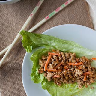 Easy Tofu Lettuce Wraps.