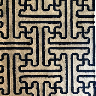 Contemporary Geometric Wool Area Rug