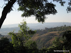 The view from the Seven Olives Hotel, Lalibela.