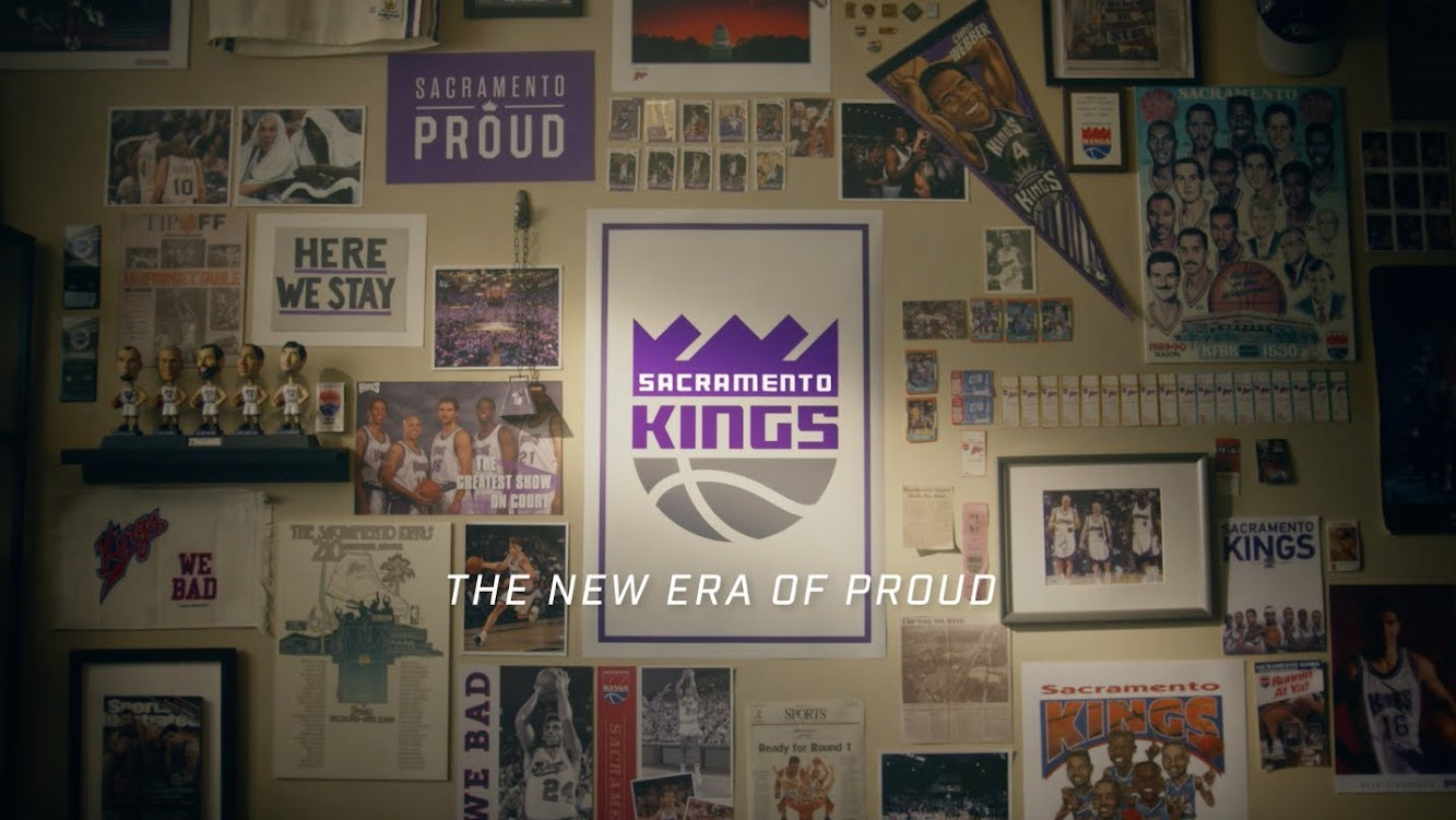 "Camp + King Introduces New Campaign and Logo for Sacramento Kings ""New Era of Proud"""