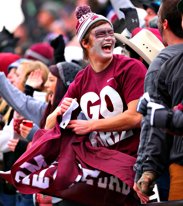 Griz fans are the best! Photo by Patrick Record.