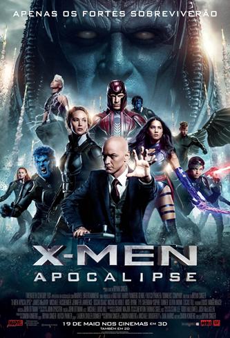 X-Men - Apocalipse - Pôster nacional