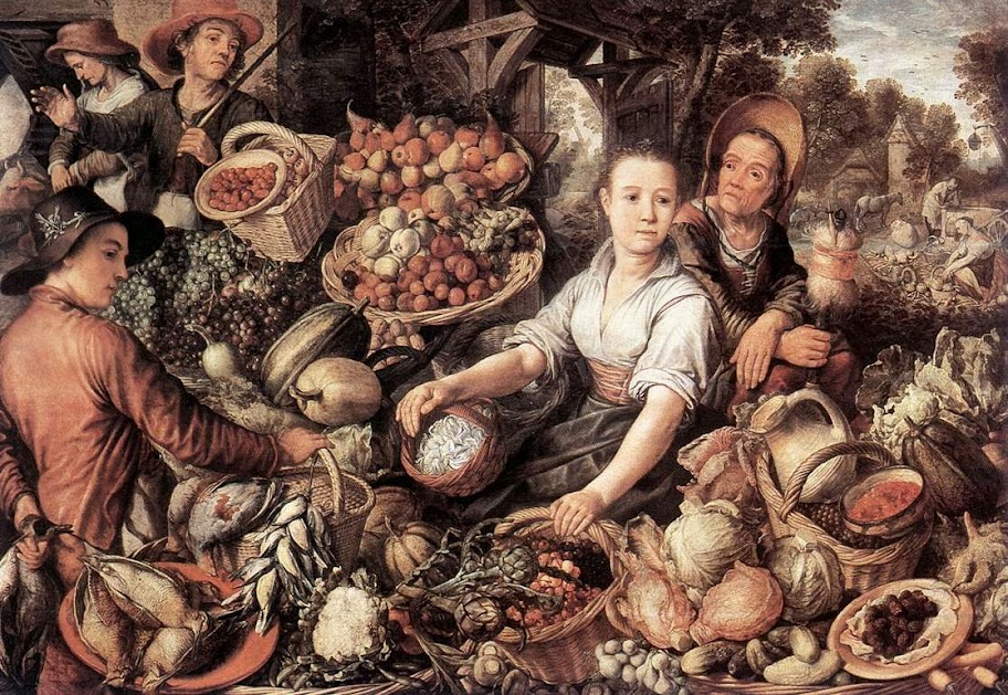 Joachim Beuckelaer - The Vegetable Market