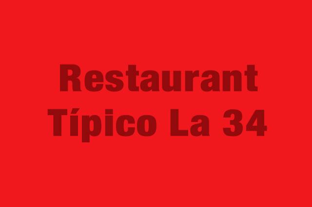 Restaurant Típico La 34 es Partner de la Alianza Tarjeta al 10% Efectiva
