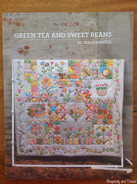Jen Kingwell Quilt Pattern Book on Rhapsody and Thread
