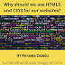 Why should we use HTML5 and CSS3 for our websites?