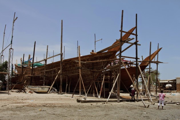 Dhow Building at Oman's Sur