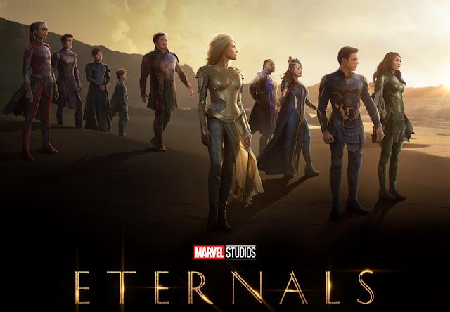 """Trailer épico de """"Eternos"""" apresenta Celestiais, Deviantes e cita batalha dos Vingadores contra Thanos"""