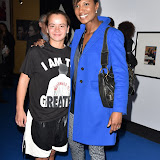 OIC - ENTSIMAGES.COM - Jenna O'Reilly and Denise Lewis at the  I Am The Greatest - Muhammad Ali exhibition at The O2 London 3rd  March 2016 Photo Mobis Photos/OIC 0203 174 1069