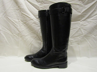 Tory Burch Black Riding Boots
