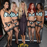 OIC - ENTSIMAGES.COM - Bianca Gascoigne and The Gaslight Dancers at the The Gaslight of St James's - party in London 28th April 2015  Photo Mobis Photos/OIC 0203 174 1069