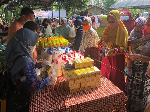 Ada Pasar Murah Ramadhan di Balangan Satu Hari